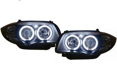 Angel Eyes Ccfl Bmw 1 Serie E81 E82 E87 E87 Lci E88 Model