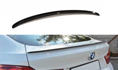 BMW X4 F26 mat zwarte koffer spoiler