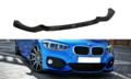 BMW F20 LCI en F21 LCI M pakket front spoiler glanzend zwart