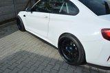 BMW M2 F87 side skirts diffusers Maxton Design_