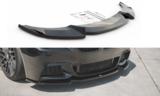 Maxton Design BMW 5 serie F10 en F11 frontsplitter glanzend zwart M pakket model 2010 - 2017 versie 3_