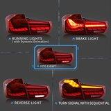 BMW 3 serie F30 OLED look achterlichten_