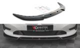 Maxton Design BMW 3 serie G20 en G21 frontspoiler V1 standaard voorbumper glanzend zwart_