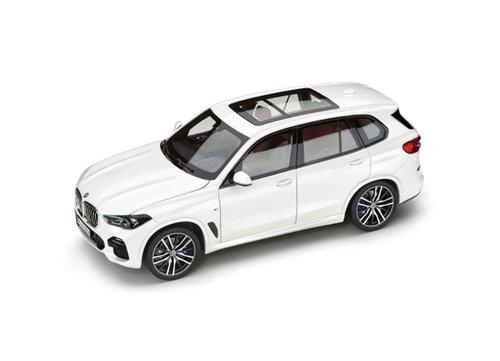BMW X5 G05 1:18 schaalmodel Alpina wit origineel BMW