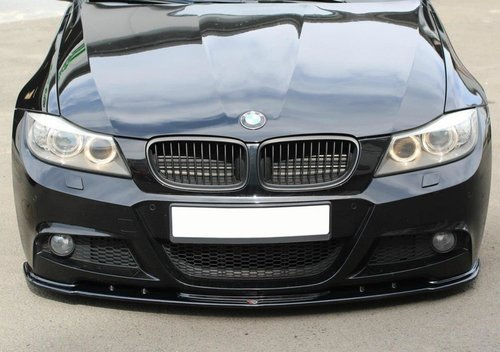 BMW 3 serie E90 LCI en E91 LCI frontsplitter M voorbumper Maxton Design