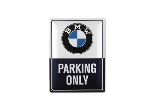 BMW Parking Only metal plate 2019 collectie origineel BMW