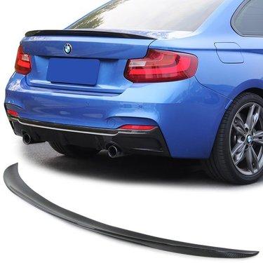 BMW 2 serie F22 en F23 spoilerlip mat zwart