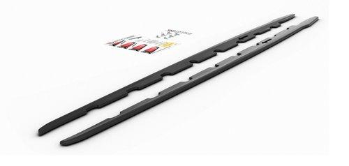 BMW 1 serie F40 sideskirt aanzet V2 glanzend zwart Maxton Design