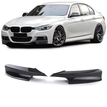 BMW 3 serie F30 en F31 carbon splitters M pakket