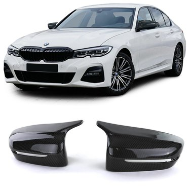 BMW 3 serie G20 en G21 spiegelkappen EVO look carbon
