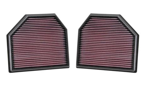 K&N Vervangingsfilter BMW M3 F80, M4 F82 en F83, M5 F10, M6 F06, F12 en F13