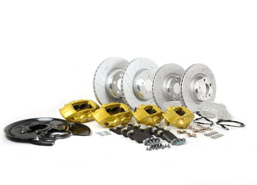 M Performance Big Brake kit F20 F21 F22 F23 F30 F31 F32 met gele remklauwen origineel BMW