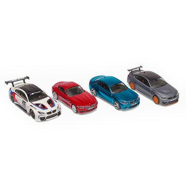 BMW Sportcar 4-delige Collectie 1:64 Miniatuur origineel BMW