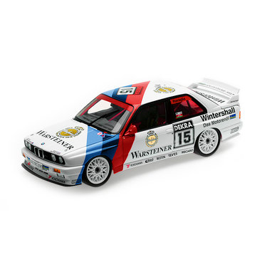 BMW M3 E30 Ravaglia Heritage Racing schaal 1:18 origineel BMW