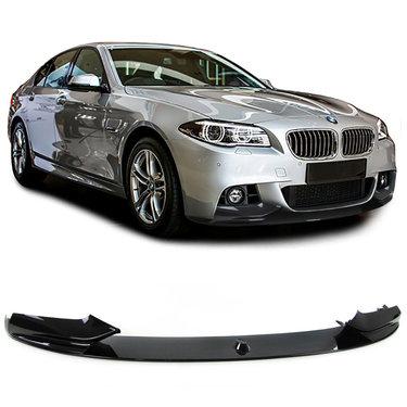 BMW 5 serie F10 en F11 glanzend zwart performance look frontspoiler