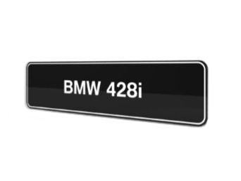 BMW 428i F32 F33 showroom platen origineel BMW