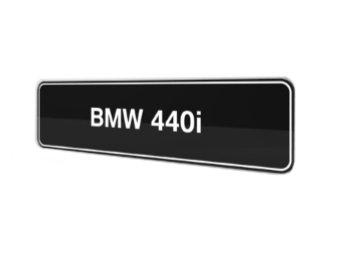 BMW 440i F32 F33 F36 showroom platen origineel BMW
