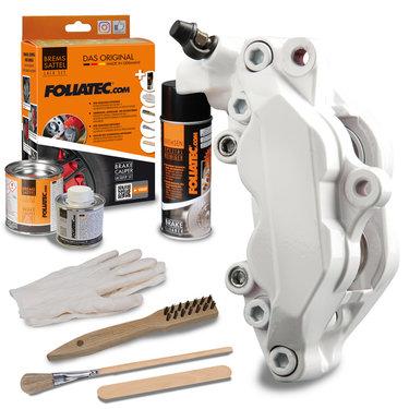 Foliatec Remklauwlakset - Pure White - 3 Komponenten
