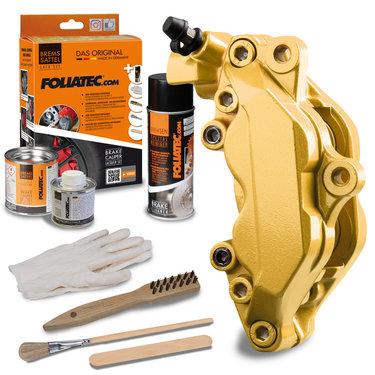 Foliatec Remklauwlakset - Prestige Gold - 3 Komponenten