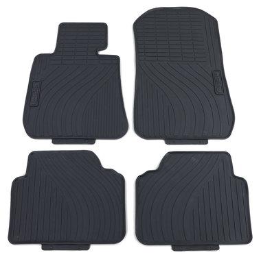 BMW 3 serie E90 en E91 rubberen matten