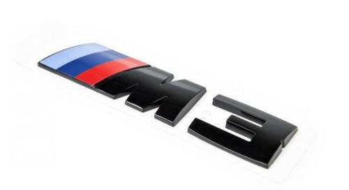 BMW M3 blackline embleem origineel BMW