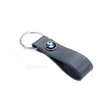 Sleutelhanger BMW leer blauw 2020 collectie origineel BMW