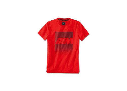 BMW M heren T-shirt rood 2020 collectie origineel BMW