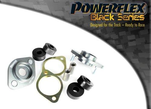Powerflex Black Series Achterste shock top mount beugel en bus 10mm BMW 3 serie E46 M3 incl. CSL 1999 – 2006