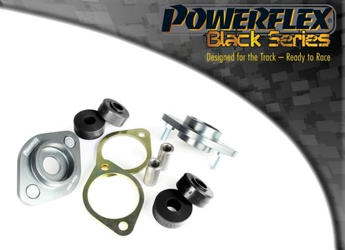 Powerflex Black Series Achterste shock top mount beugel en bus 12mm BMW 3 serie E46 Sedan Touring Coupe Cabrio 1999 – 2006