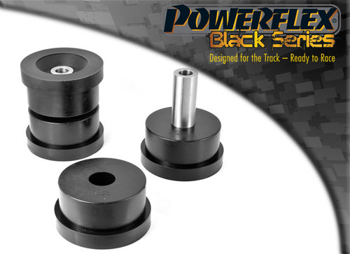 Powerflex Black Series Achterasdrager montage bus BMW 7 serie E32 1988 – 1994