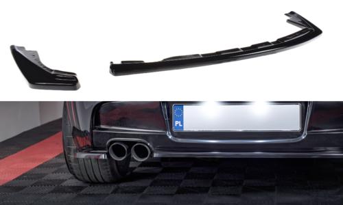 BMW 1 serie E81, E87 en E87 LCI diffusor glanzend zwart Maxton Design