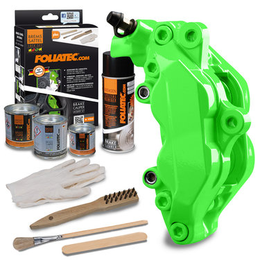 Foliatec Remklauwlakset - Neon Green - 3 Komponenten