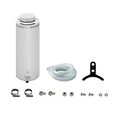 Mishimoto universele aluminium koelvloeistof tank zilver