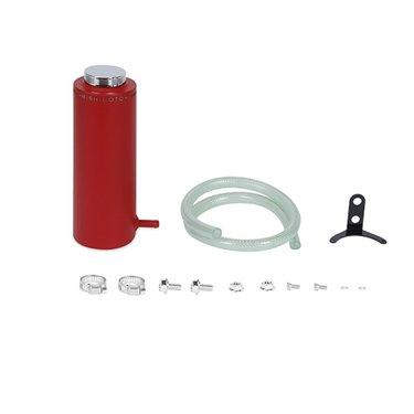 Mishimoto universele aluminium koelvloeistof tank rood