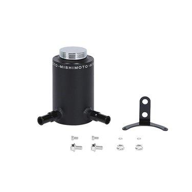 Mishimoto aluminium stuurbekrachtiging reservoir tank zwart