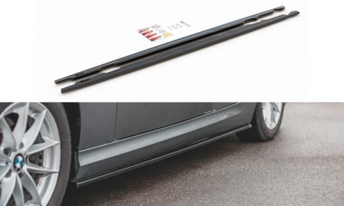 BMW 3 serie E90 LCI en E91 LCI sideskirts extensions model 2008 - 2011 Maxton Design