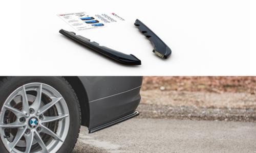 BMW 3 serie E91 LCI diffusor hoeken zijkanten standaard achterbumper Maxton Design