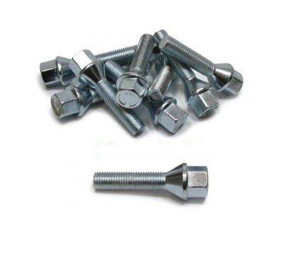 Wielbouten M12 x 1,5 voor spacers van 2,5 cm per wiel