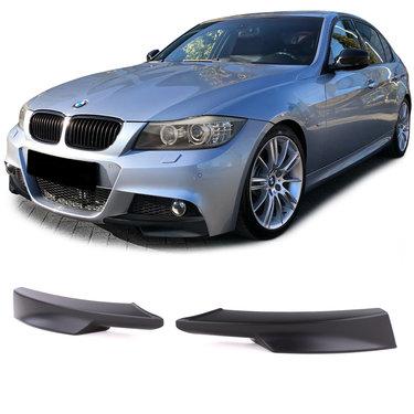 BMW 3 serie E90 LCI en E91 LCI splitters M pakket ongespoten model 2008 - 2011