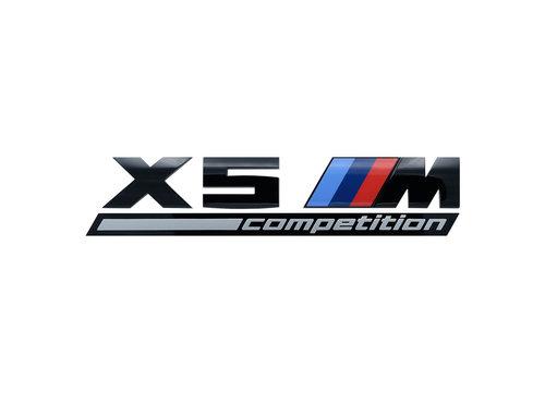 X5M Competition embleem origineel BMW