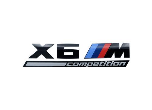 X6M Competition embleem origineel BMW