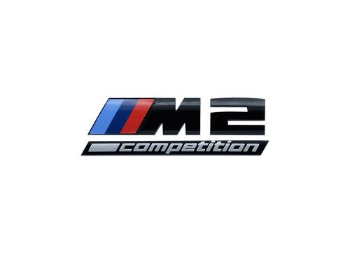 BMW M2 CS competition blackline logo origineel BMW