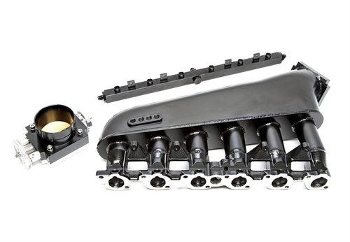 TA Technix inlaatspruitstuk zwart BMW 3 serie E30 5 serie E34 M20 motor