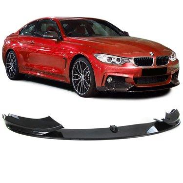 BMW 4 serie F32 en F33 performance carbon look frontspoiler