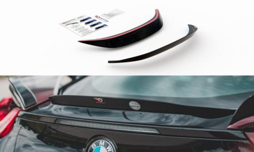 Maxton Design Central cap glanzend zwart spoiler BMW I8