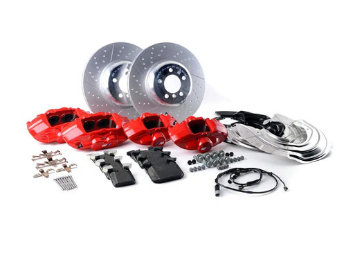 M Performance Big Brake kit F30 F31 F32 F33 F34 F36 met rode remklauwen origineel BMW
