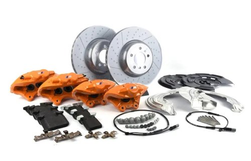M Performance Big Brake kit F30 F31 F32 F33 F34 F36 met oranje remklauwen origineel BMW