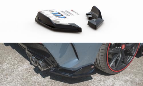 BMW 1 serie F40 aanzet bumperhoeken V4 glanzend zwart Maxton Design