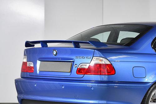 BMW 3 serie E46 coupe CS spoiler