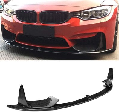 BMW 3 serie F80 M3 en 4 serie F82 / F83 M4 carbon performance look frontspoiler